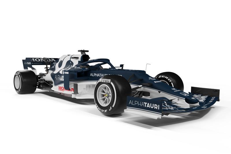 スクーデリア・アルファタウリ・ホンダの2021年シーズンマシン「AT02」