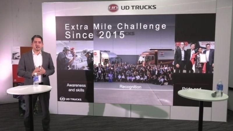 2015年から開催しているUDエクストラマイルチャレンジ