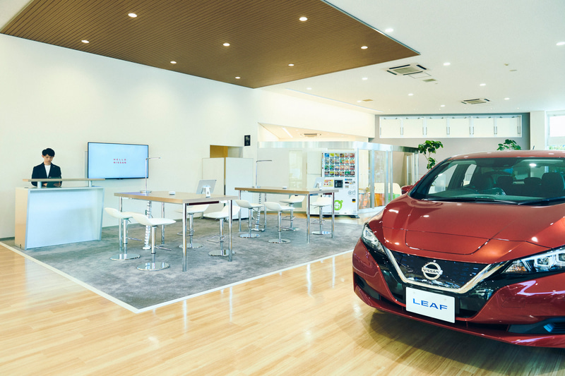 2019年秋より稼働中のHELLO NISSAN_神奈川日産自動車 百合ヶ丘店