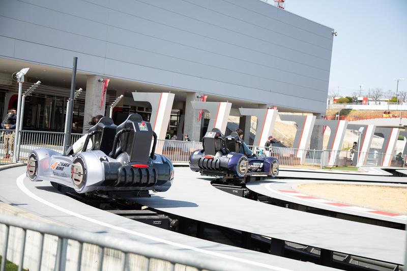 鈴鹿サーキット国際レーシングコースと同じ形状のコースを楽しめます