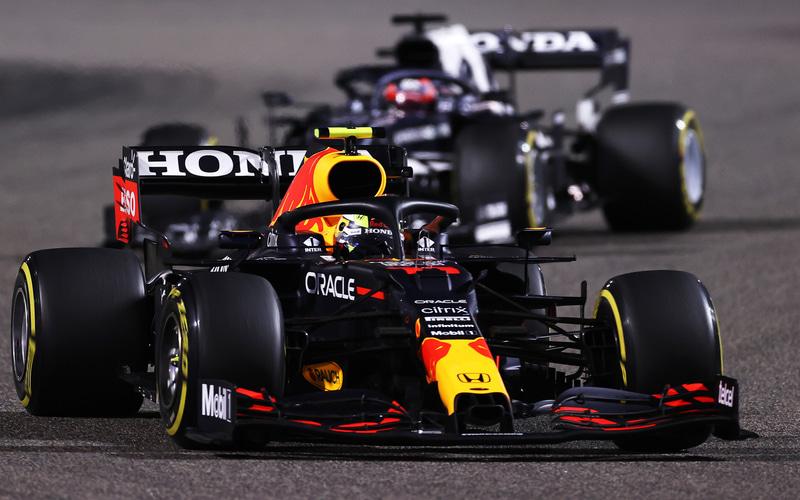 第1戦バーレーンGPで2位となったレッドブル・ホンダのマックス・フェルスタッペン選手 (C)Getty Images / Red Bull Content Pool