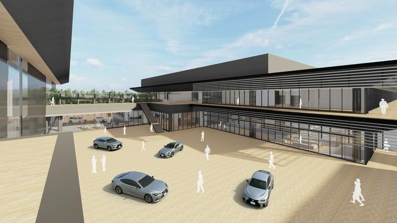 レクサスの新施設(イメージ図)