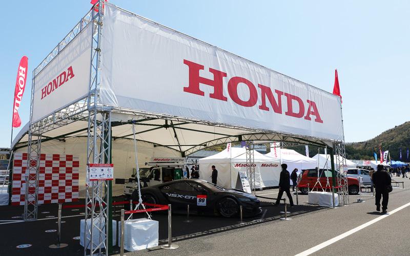 ホンダ:NSX-GTなどGTマシンの展示