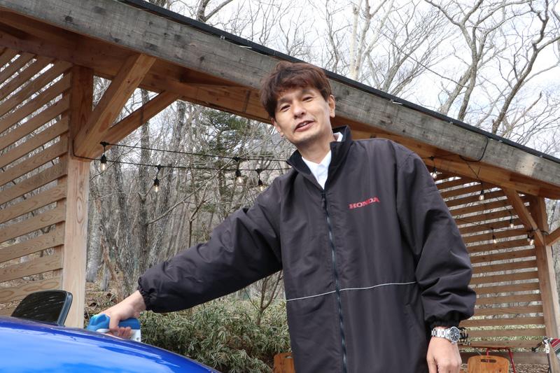 Honda e開発責任者である株式会社本田技術研究所 先進パワーユニット・エネルギー研究所 PUシステム開発室 第1ブロック チーフエンジニア 武政幸一郎氏