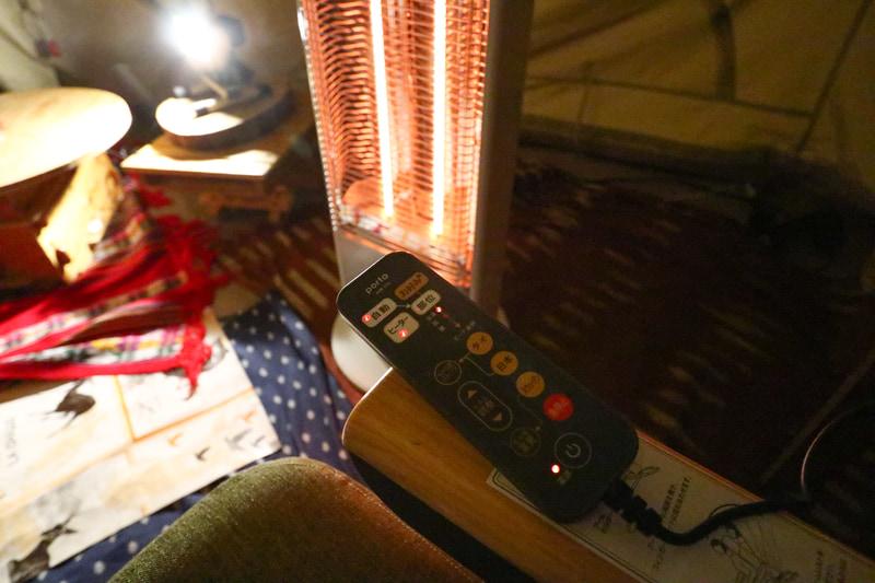 電気マッサージチェアにはヒーターも装備してあり、非常に快適かつ気持ちがいい
