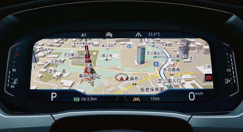 """デジタルメータークラスター""""Digital Cockpit Pro"""""""