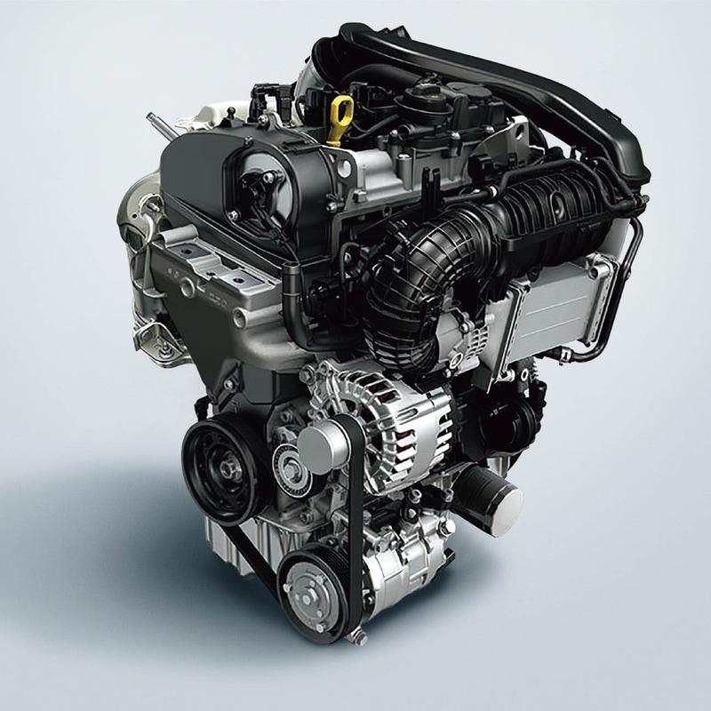 最高出力110kW(150PS)/3500-4000rpm、最大トルク340Nm(34.7kgfm)/1750-3000rpmを発生する直列4気筒DOHC 2.0リッターディーゼルターボエンジン「2.0 TDI」