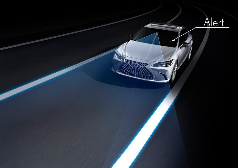 同一車線内中央を走行できるよう操舵を支援する高度運転支援機能「レーントレーシングアシスト」の車線認識にAI技術を活用することで支援範囲を拡大し、よりスムーズで途切れにくい操舵支援を実現