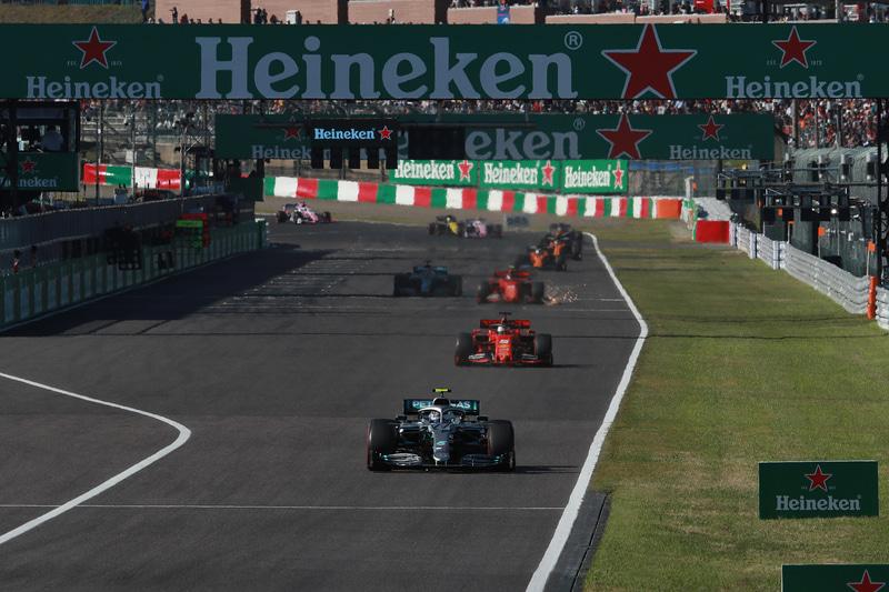2022年~2024年のF1日本GPの開催が決定(写真は2019年のF1日本GP)