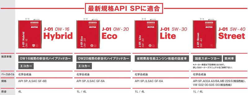 新J-01シリーズラインアップ