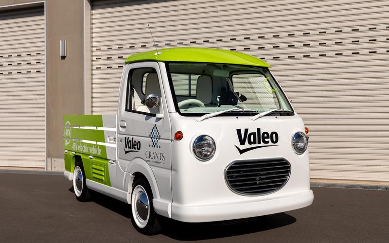 48V四輪駆動電気自動車の軽トラックのデモカー