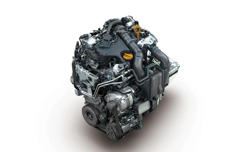 直列4気筒SOHC 1.5リッター直噴ディーゼルターボ「K9K」型エンジン