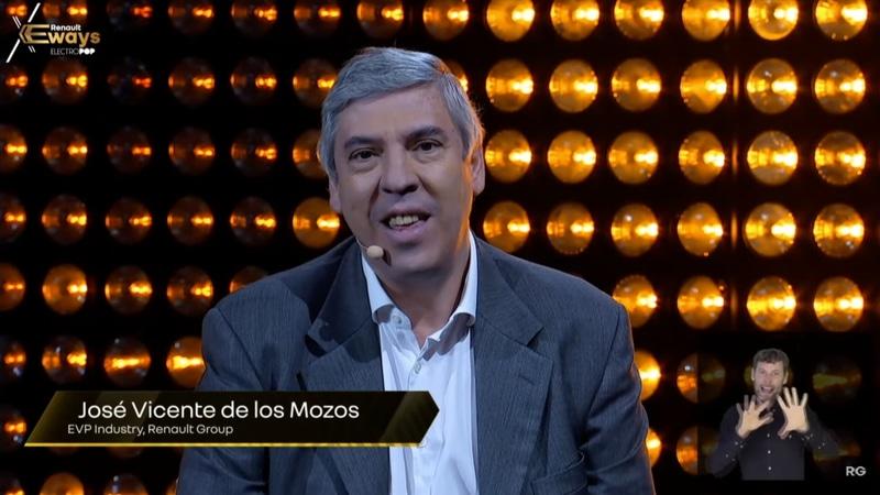 ルノー・グループの生産担当EVP Jose Vicente de los Mozos氏