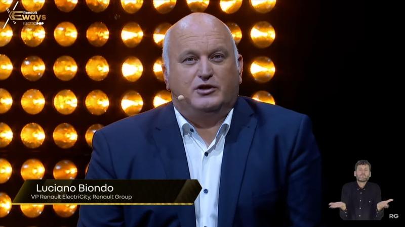 ルノー・グループのルノー・エレクトリシティ VP Luciano Biondo氏