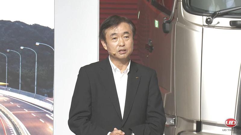 UDトラックス株式会社 代表取締役社長 酒巻孝光氏