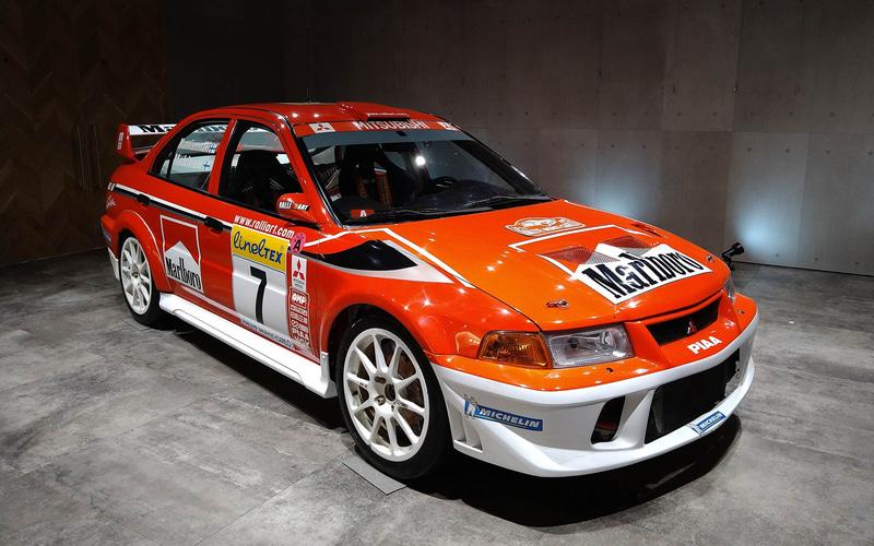WRC展ではレプリカを展示