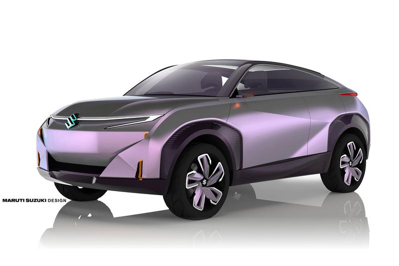2020年にスズキがインドで公開したEV(電気自動車)コンセプトモデル「Concept FUTURO-e」