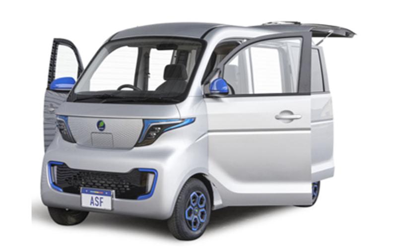 ASFが開発中の小型EV車両(イメージ)