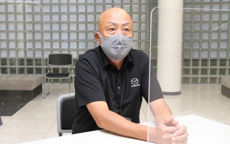 マツダ株式会社 カスタマーサービス本部の児玉眞也氏。実は現行CX-5の元開発主査である