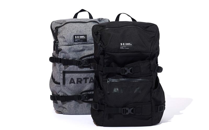 新商品「ARTA×UNDER ARMOURのクールバックパック」