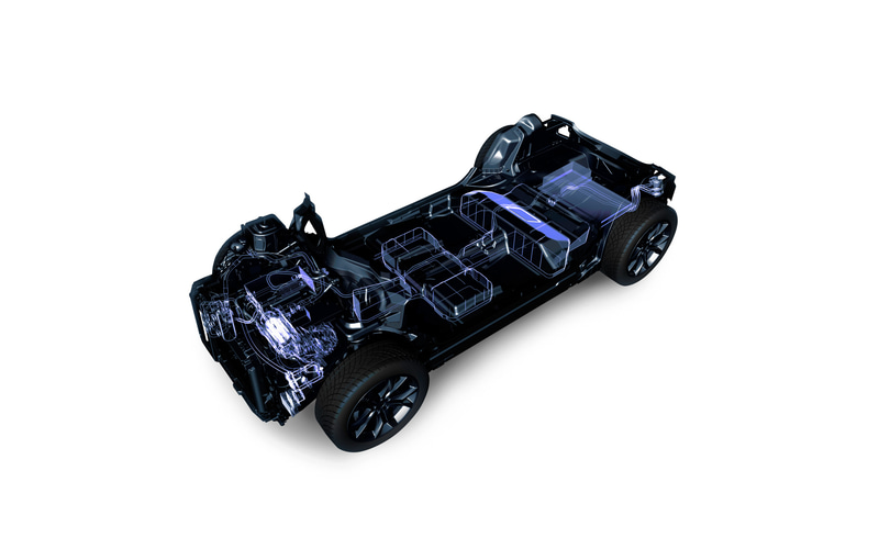DS 3 クロスバック Eテンス パフォーマンスラインに採用されるEVプラットフォーム