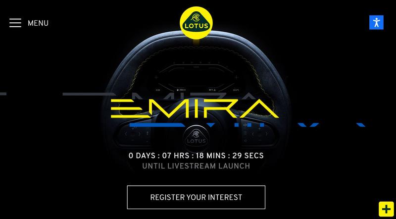 英国Lotus Cars(ロータスカーズ)のロータス公式Webサイト