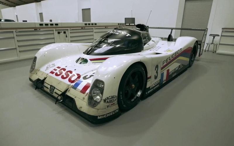 プジョー 905。1992年と1993年のル・マン24時間レース優勝車両