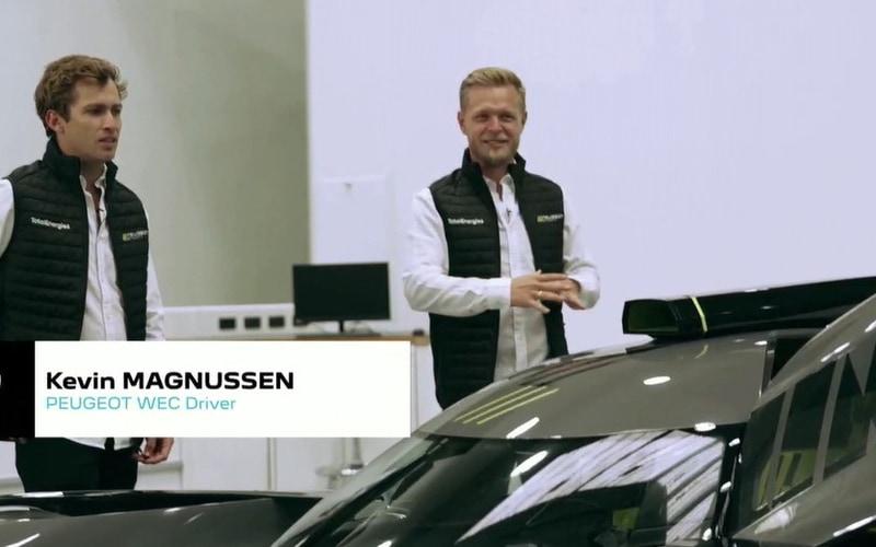 ケビン・マグヌッセン選手を初めとしたドライバーも参加