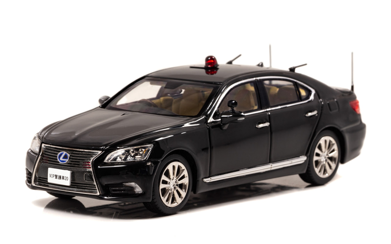 1/43 レクサス LS600h 2017 警察本部警備部要人警護車両