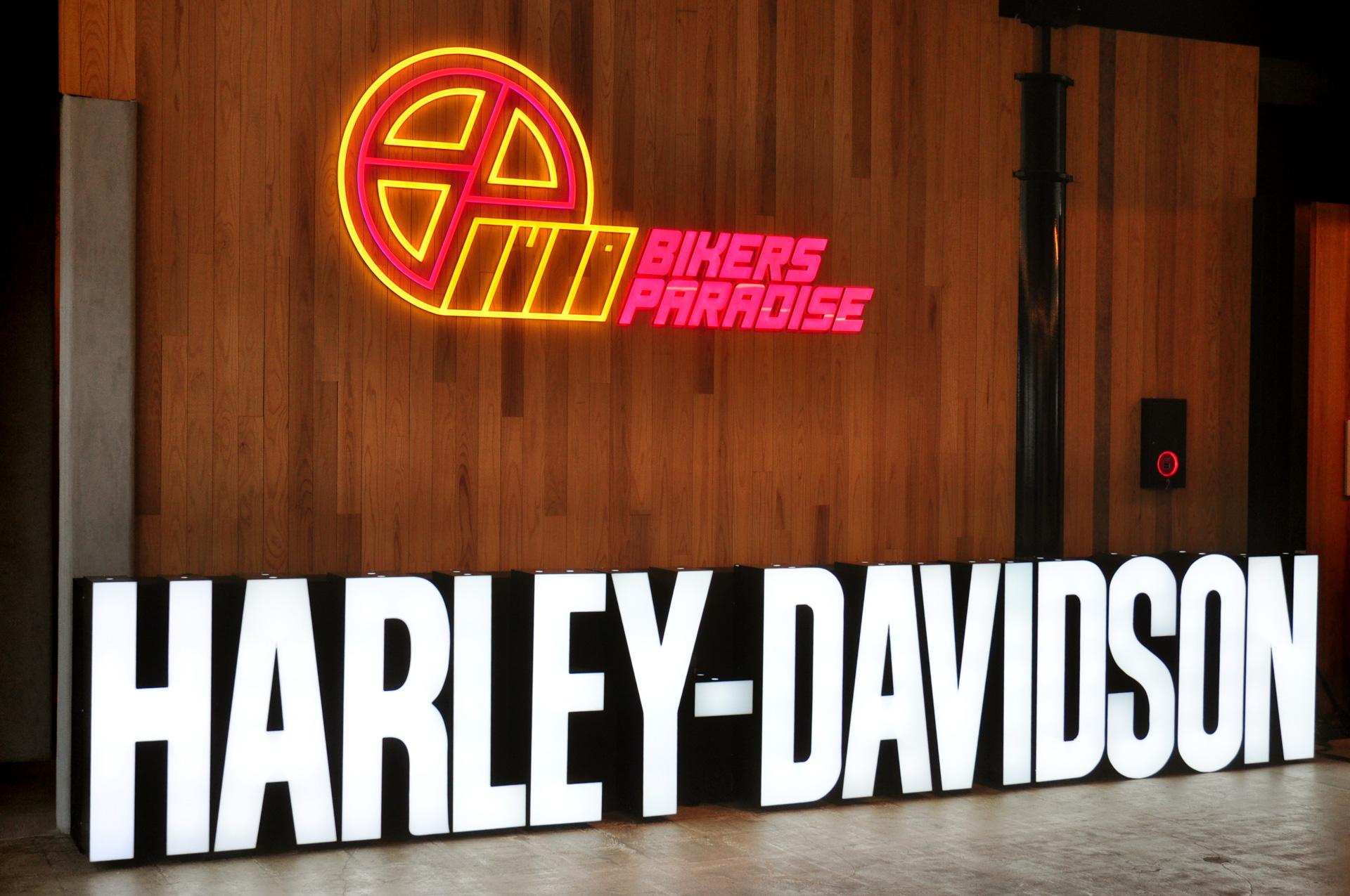 バイカーズパラダイス南箱根で開催中の「Harley Month」