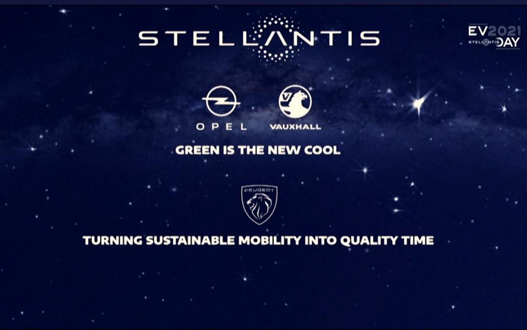 ステランティスの各ブランドの電動化に向けたスローガン
