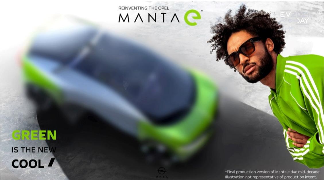 オペルはかつての名車「MANTA」のブランドを冠したMANTAeの計画を明らかに