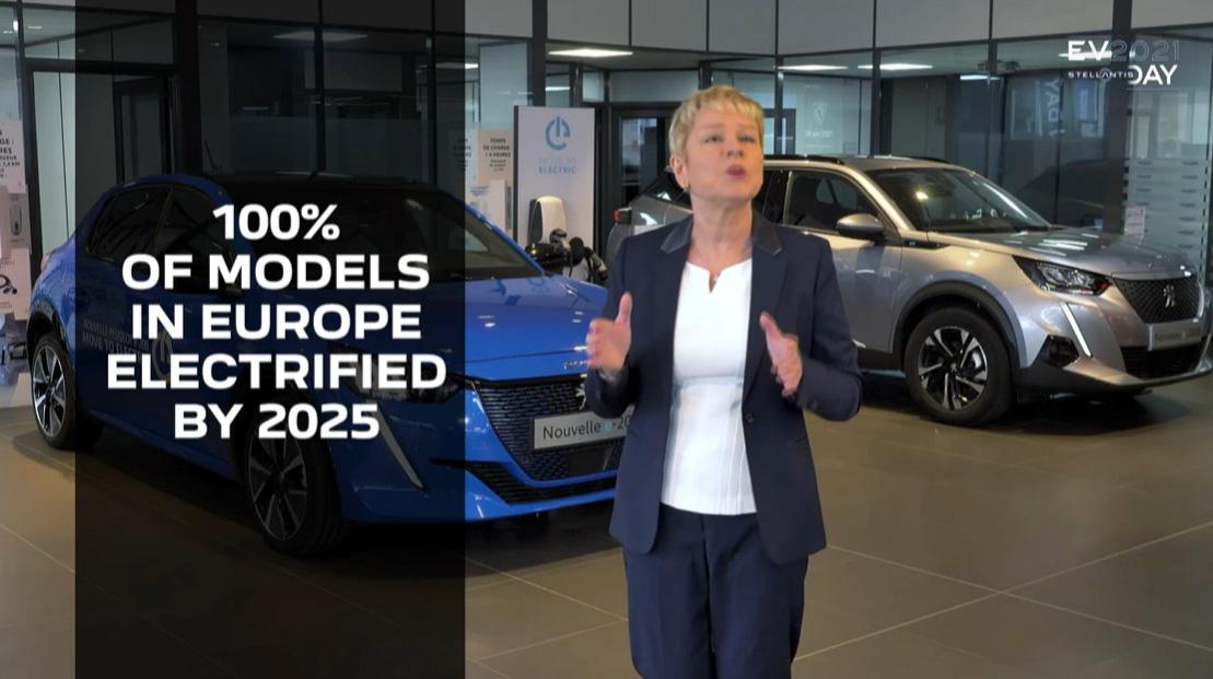 2025年には全てのモデルの電動化を実現