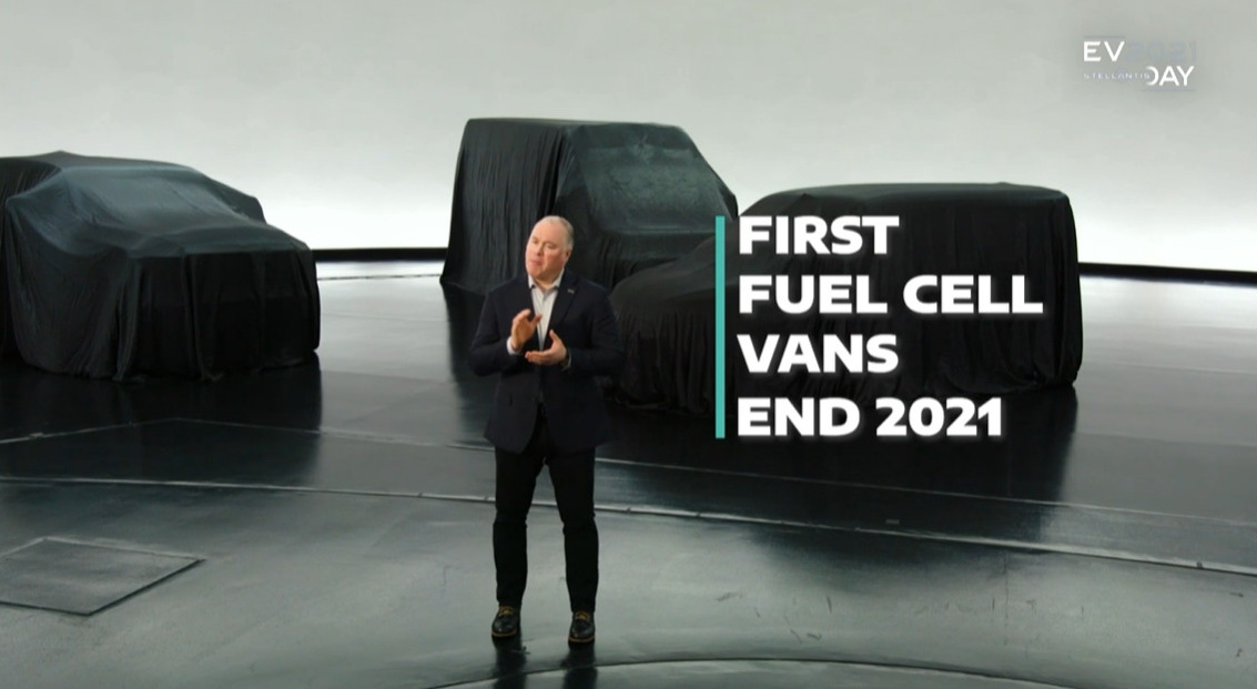 今年欧州で燃料電池車の商用バンを導入