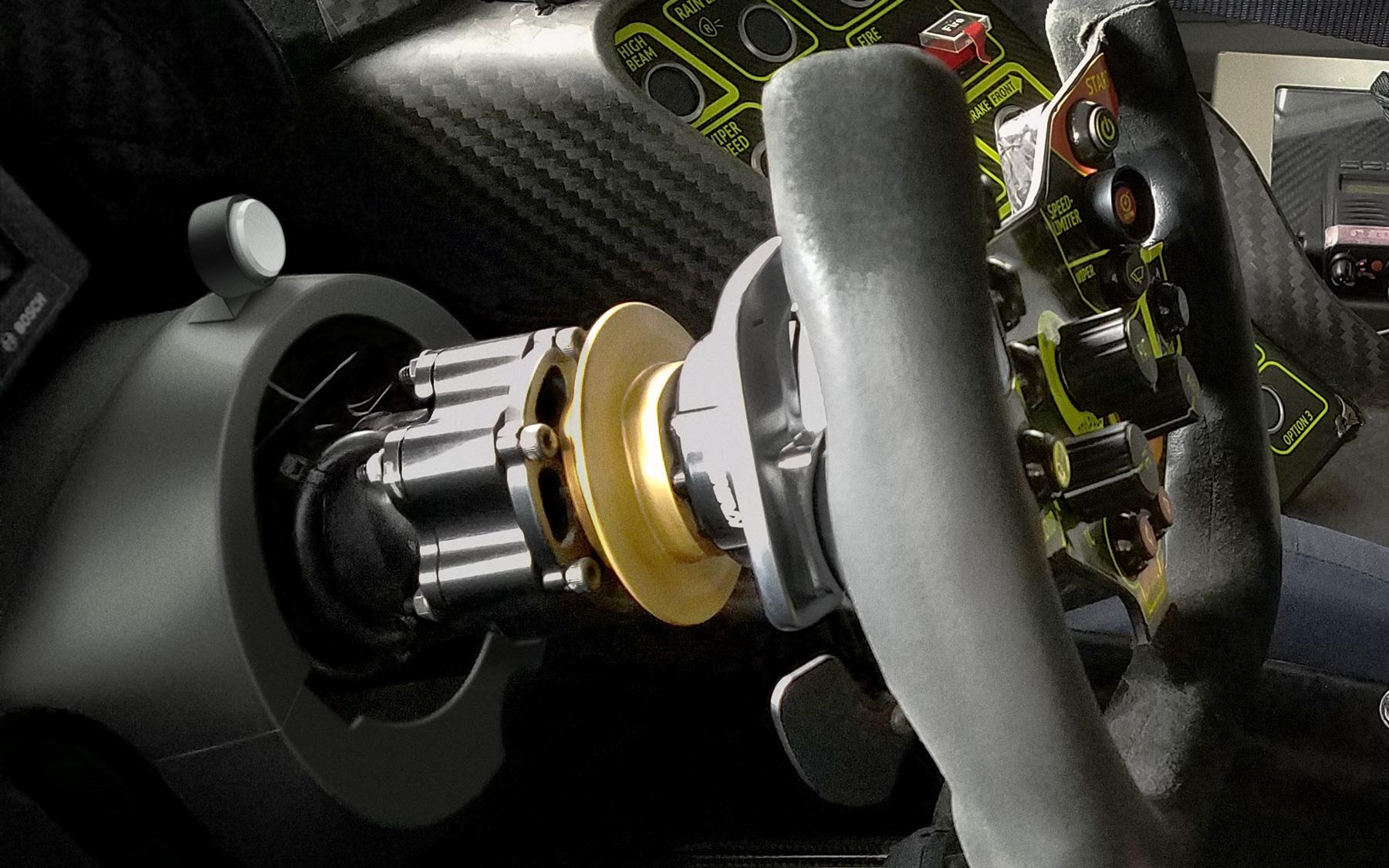レーシングカーにも装着可能