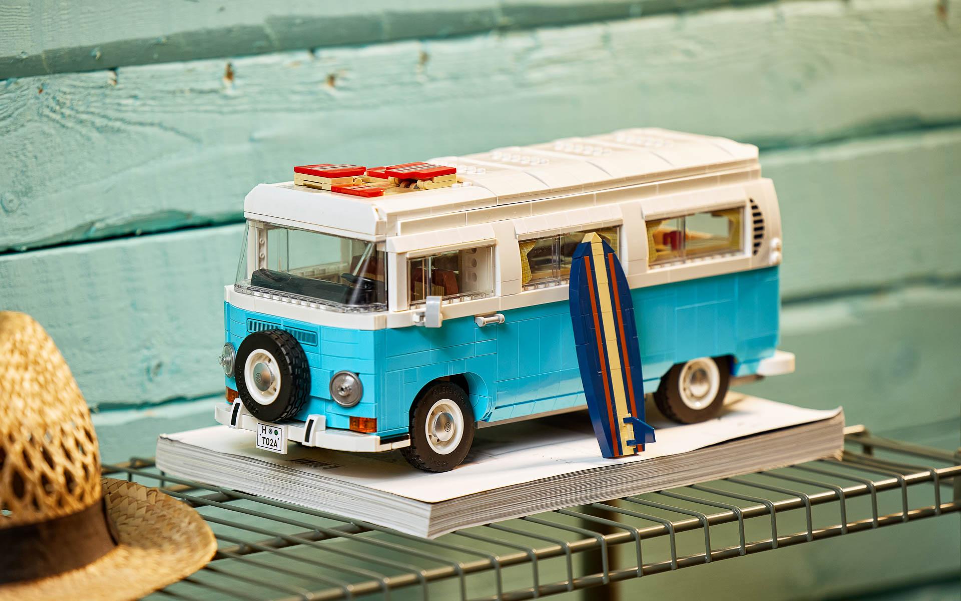 「レゴ フォルクスワーゲン タイプ2 バス キャンピングカー」