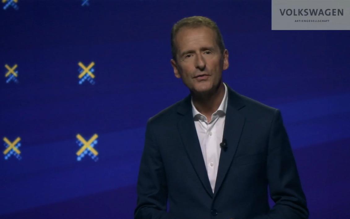 フォルクスワーゲン・グループ CEO(最高経営責任者) ヘルベルト・ディース氏