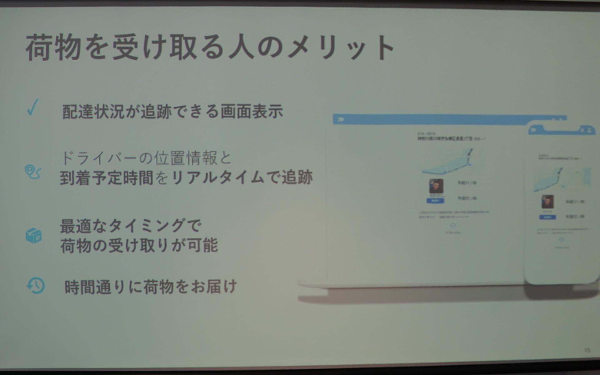 ワイズ・システムズの導入メリットを紹介する砥上氏のプレゼンテーションスライド