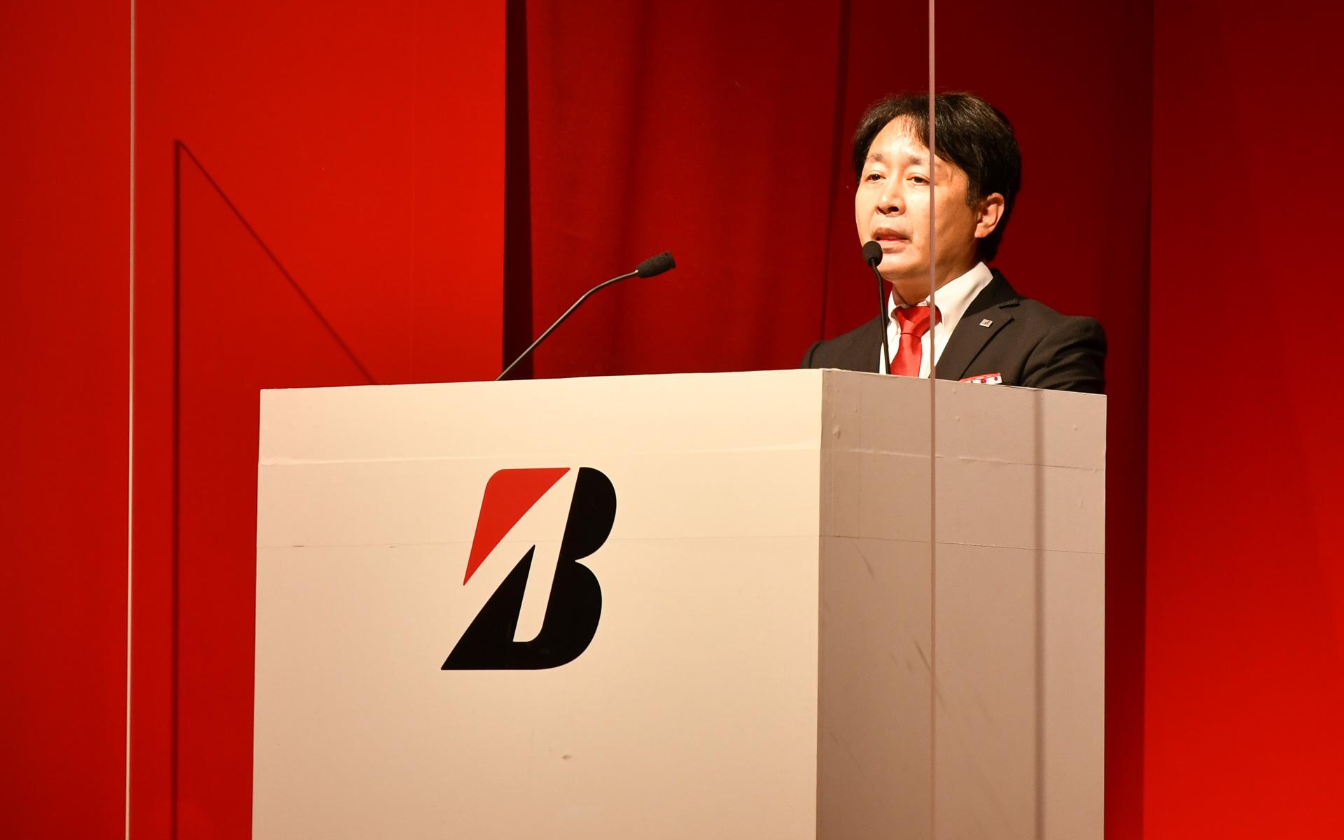 ブリヂストンタイヤソリューションジャパン株式会社 常務執行役員 商品戦略担当 長島淳二氏