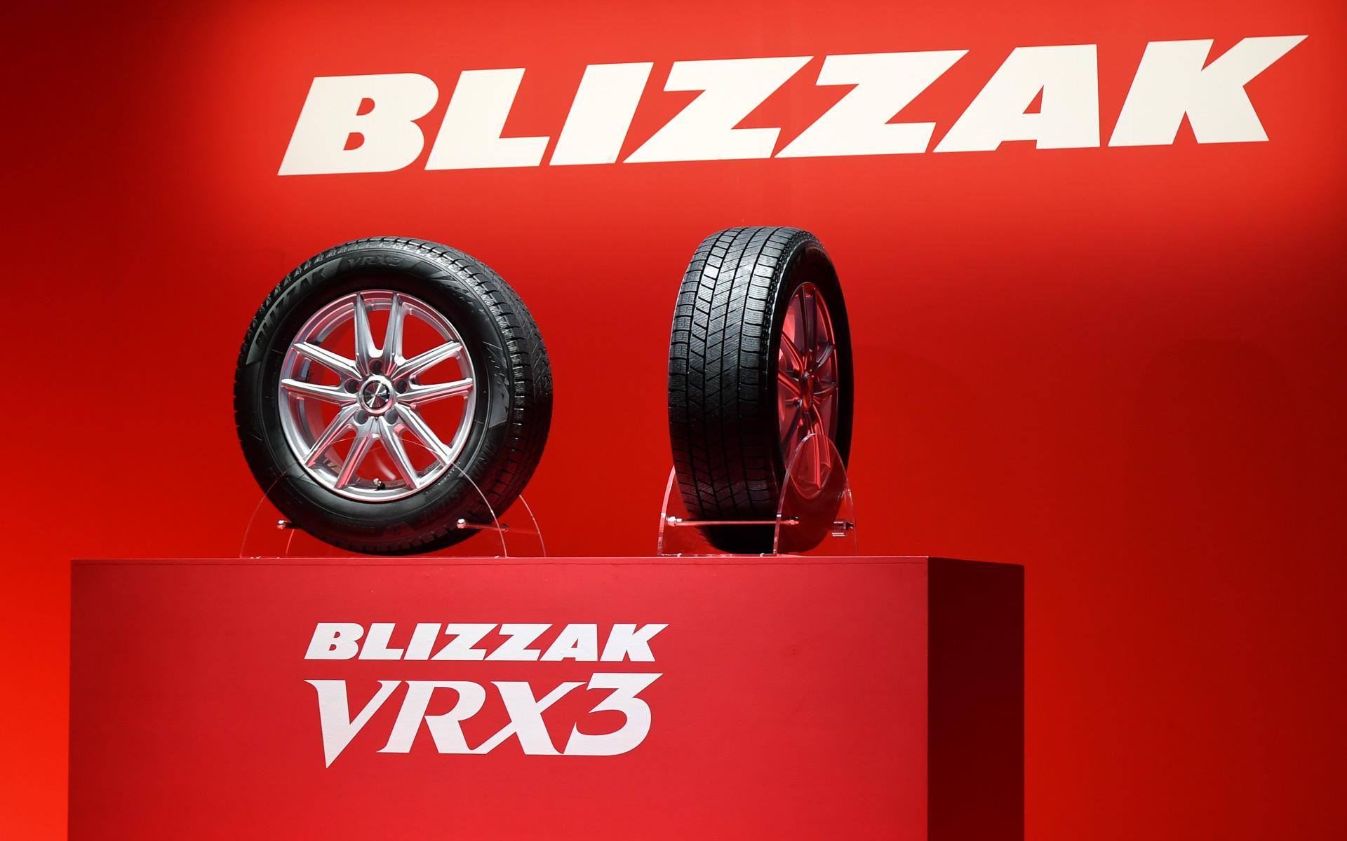 ブリヂストン、新スタッドレスタイヤ「ブリザックVRX3」