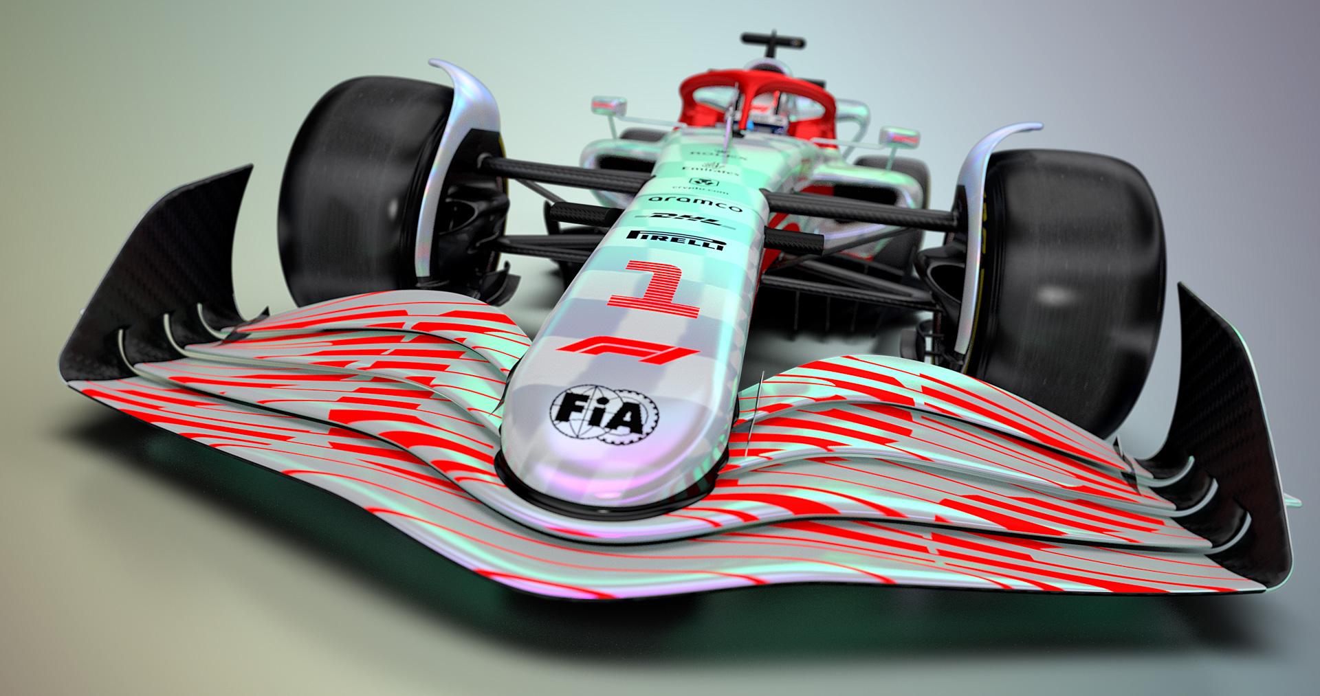 F1の2022年規定車両