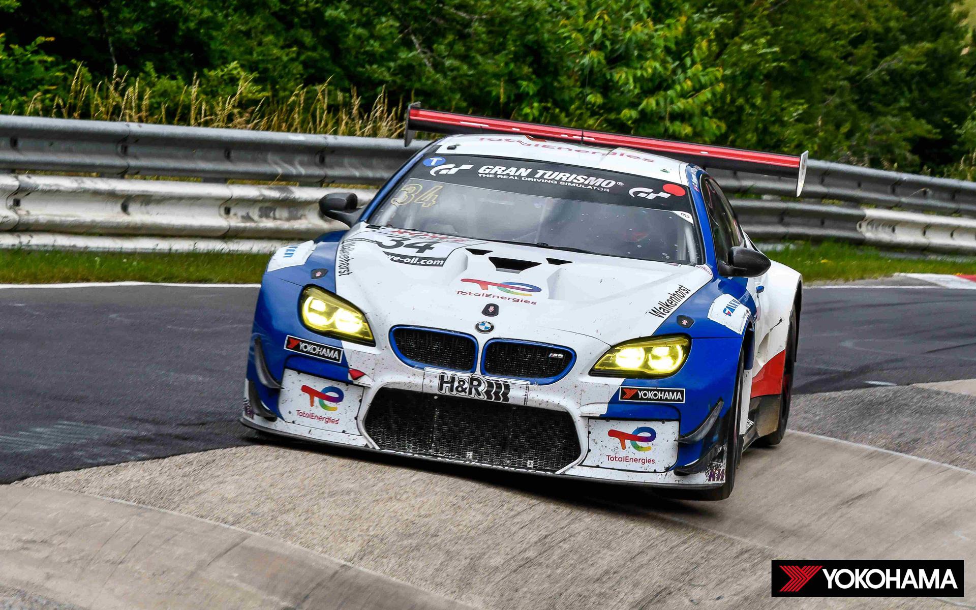 「NLS」シリーズ第6戦で総合優勝した34号車「BMW M6 GT3」