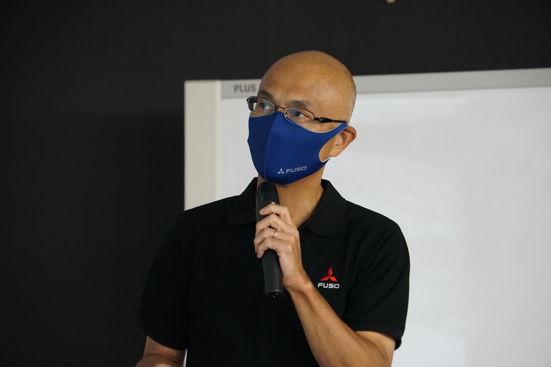 三菱ふそうトラック・バス株式会社 大型トラック・バス商品プロジェクト部 伊原忠人氏