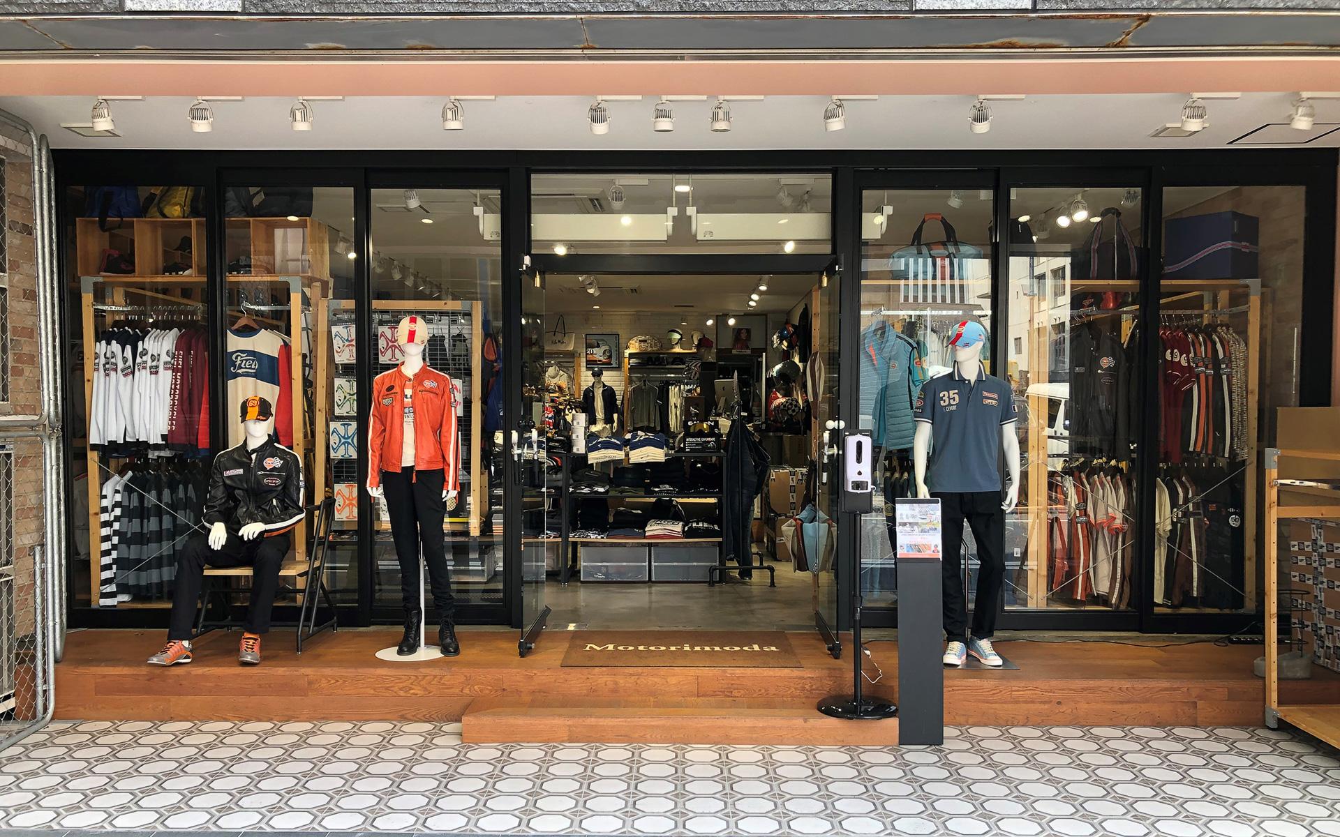 モトーリモーダ銀座店(東京都中央区銀座8-16-6-1F)