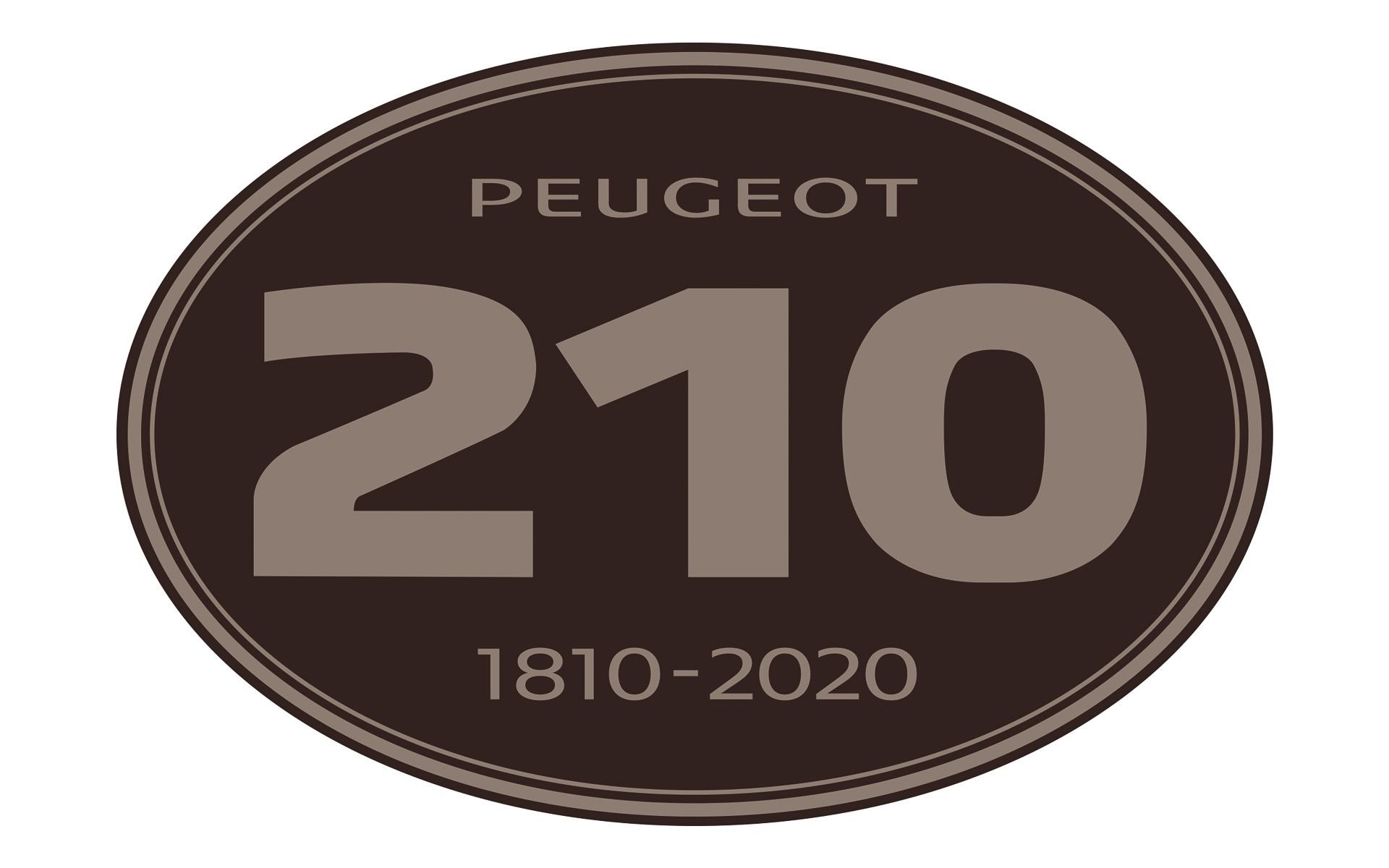 プジョー 210YEARSステッカー