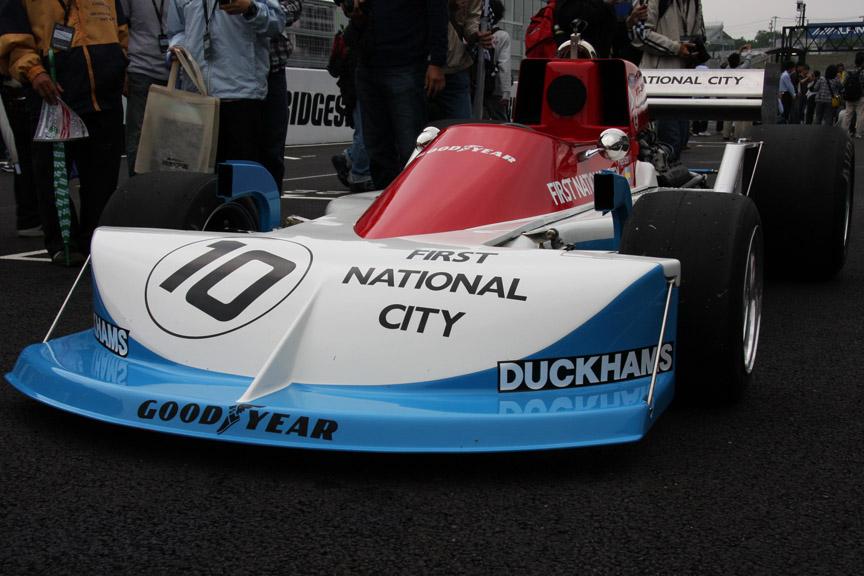 マーチ761、1976年にロニー・ピーターソンがドライブしイタリアGPで優勝している