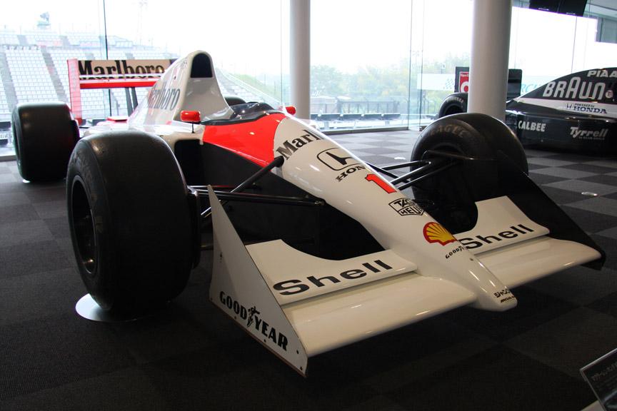 マクラーレン・ホンダMP4/6。1991年にセナが乗ってシリーズチャンピオンを獲得
