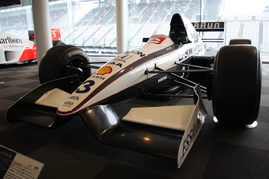 ティレル・ホンダ020。1991年に中嶋悟がドライブ