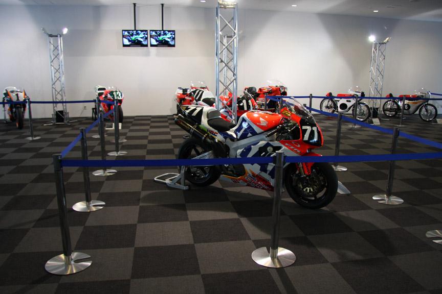 2輪のコーナーにも多くの名車が展示された