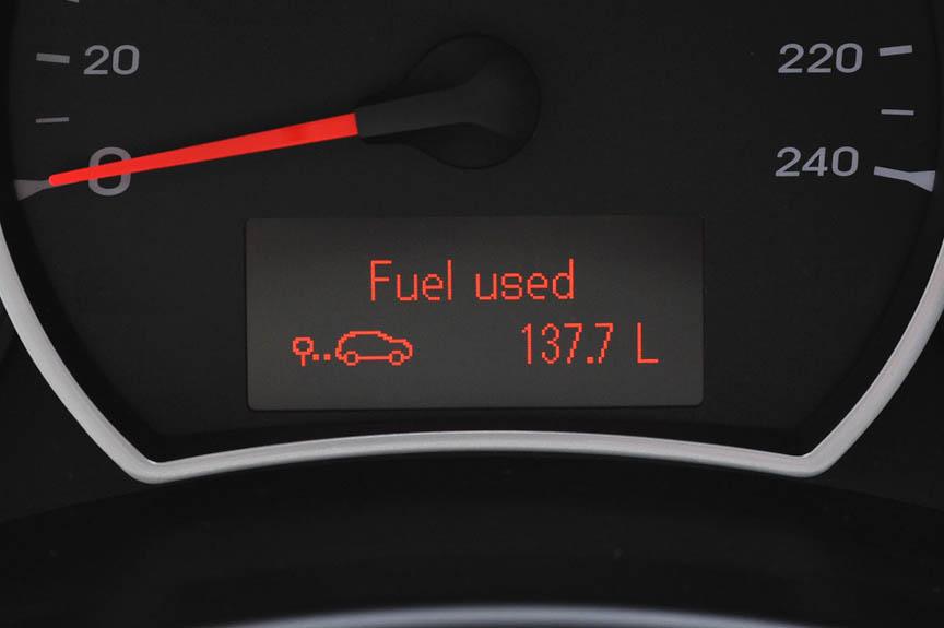 ガソリン消費量